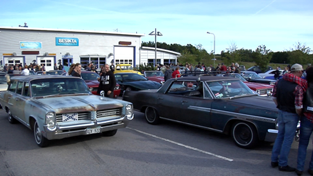 Wild Wheels Cruising i Ronneby 2014.